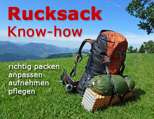 Rucksack Für Kletterausrüstung : Rucksack know how richtig packen aufnehmen pflegen etc