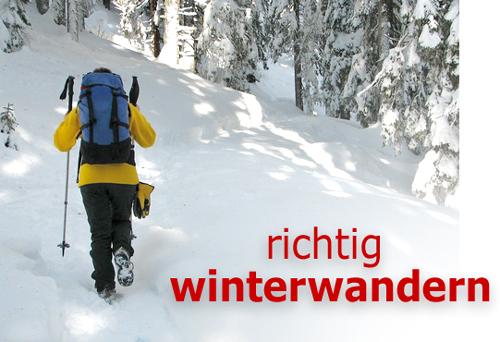 f72d0af88c1108 Richtig Winterwandern – Ausrüstung