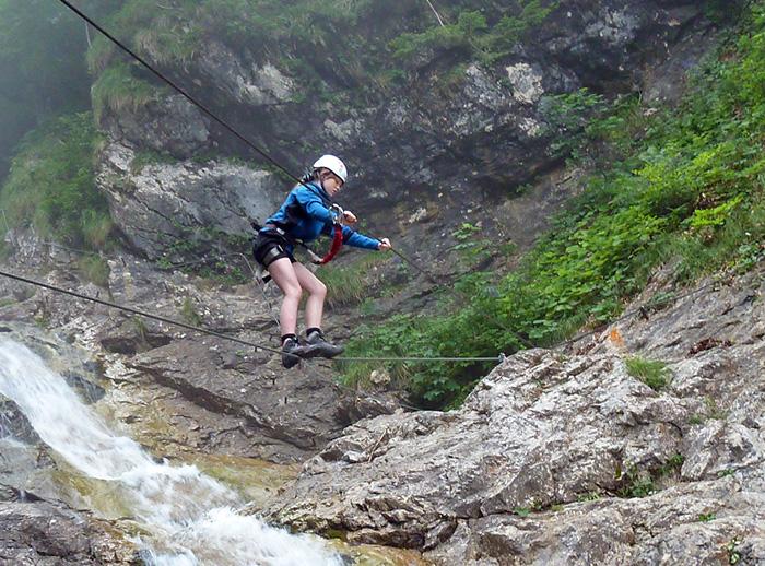 Klettersteig Wien Umgebung : Rotschitza klamm klettersteig [www.bergnews.com]