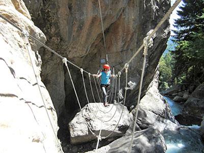 Klettersteig Bilder : Pirknerklamm klettersteig bergnews